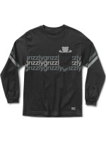 Playera Grizzly Dazed & Confused Pocket M/L Black