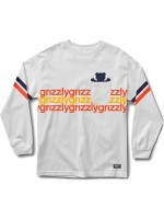 Playera Grizzly Dazed & Confused Pocket M/L White