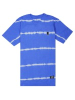 Playera Grizzly Earthquake Stripe Tie Dye Blue