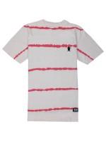 Playera Grizzly Earthquake Stripe Tie Dye White