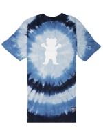 Playera Grizzly Eclipse Tie-Dye Blue