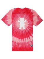 Playera Grizzly Eclipse Tie-Dye Red
