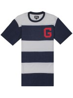 Playera Grizzly Grand Stand Striped Knit Navy