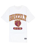 Playera Grizzly Halftime White