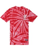 Playera Grizzly High Winds Red Tie Dye