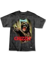 Playera Grizzly Hunting Season Black Tie Dye