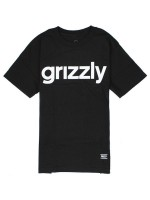 Playera Grizzly Lowercase Black