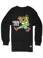 Playera Grizzly Mile High M/L Black