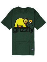 Playera Grizzly Mount Fuji Forest Green