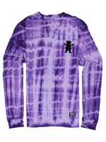 Playera Grizzly Nevermind M/L Purple Tie Dye