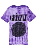 Playera Grizzly Nevermind Purple Tie Dye