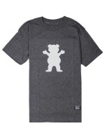 Playera Grizzly OG Bear Logo Basic Charcoal Heather