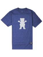 Playera Grizzly OG Bear Logo Basic Denim Heather