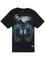 Playera Grizzly Roar At The Moon Black