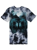 Playera Grizzly Roar At The Moon Crystal Wash