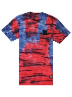 Playera Grizzly Sunscape Pocket Red