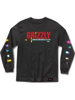 Playera Grizzly X Adventure Time Grizzly Time M/L Black