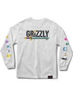 Playera Grizzly X Adventure Time Grizzly Time M/L White