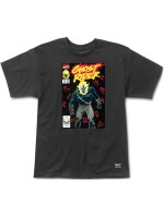 Playera Grizzly X Ghost Rider Cover Black