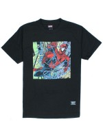 Playera Grizzly X Spider-Man Aerial Black