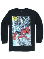 Playera Grizzly X Spider-Man Cover M/L Black