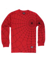 Playera Grizzly X Spider-Man Webbed M/L Red