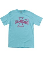 Playera Independent Barbee Cross Pacific Blue