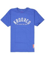Playera Krooked Ksb Arch Royal White