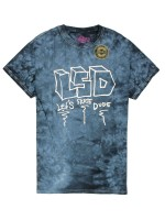 Playera Krooked Lsdude Black Tye Dye