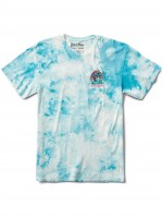 Playera Primitive X Rick And Morty Mr Meeshrooms Washed Light Blue