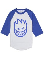 Playera Spitfire Bighead 3/4 White Royal