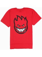 Playera Spitfire Bighead Fill Red Black