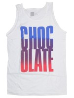 Playera Tank Chocolate Big Chocolate White