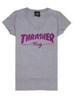 Playera Thrasher Mag Logo Athletic Heather (Mujer)