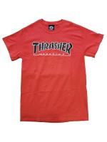 Playera Thrasher Outlined Red
