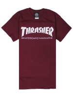 Playera Thrasher Skate Mag Maroon
