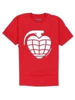 Playera Thunder Basic Grenade Red White