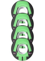 Ruedas Girl Torso Green Black 99D 55mm