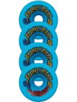 Ruedas Santa Cruz Slime Balls Vomits Neon Blue 97A 60mm