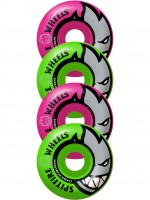 Ruedas Spitfire Big Head Mash Classics Pink Green 99D 54mm