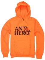 Sudadera Antihero Doghump Orange Black