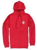 Sudadera Girl Scout Zip Red