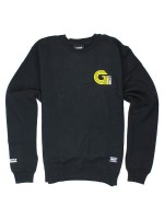 Sudadera Grizzly Certified Crew Black
