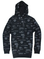 Sudadera Grizzly Front Runner Pullover Black