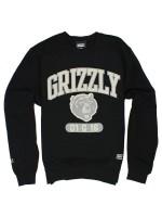 Sudadera Grizzly Halftime Crew Black