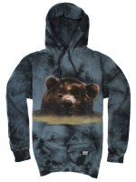 Sudadera Grizzly Submerged Black Tie Dye