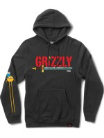 Sudadera Grizzly X Adventure Time Grizzly Time Black