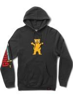 Sudadera Grizzly X Adventure Time Homies Help Homies Black