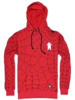 Sudadera Grizzly X Spider-Man Webbed Red
