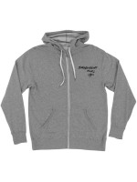 Sudadera Independent Barbee Cross French Terry Zip Salt And Pepper